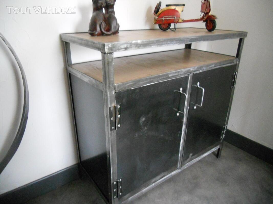 Bureau, bibliothèque , console style industriel 231212551