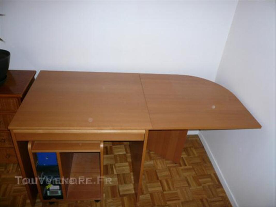 Bureau + caisson sur roulettes IKEA 44704479