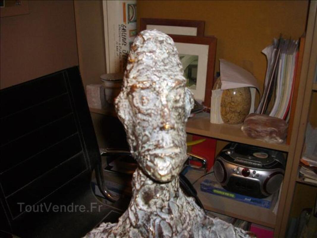 Buste bronze contemporain 30610606