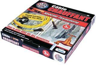 Cable chauffant pour protéger vos tuyauteries contre le gel