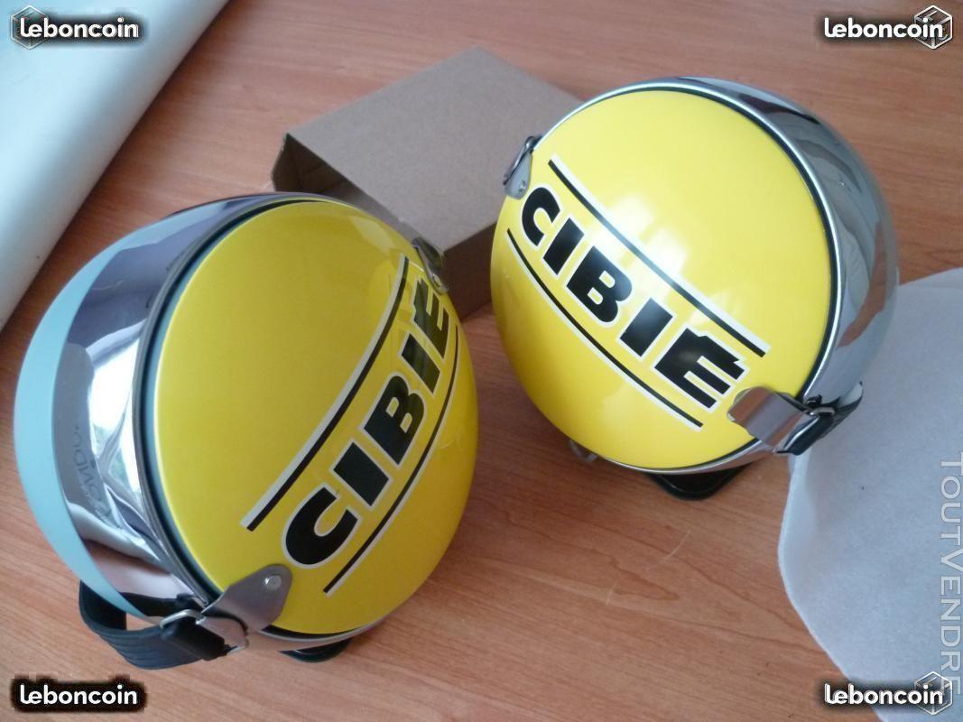 Caches Cibié jaunes en métal pour phares boules 438202382