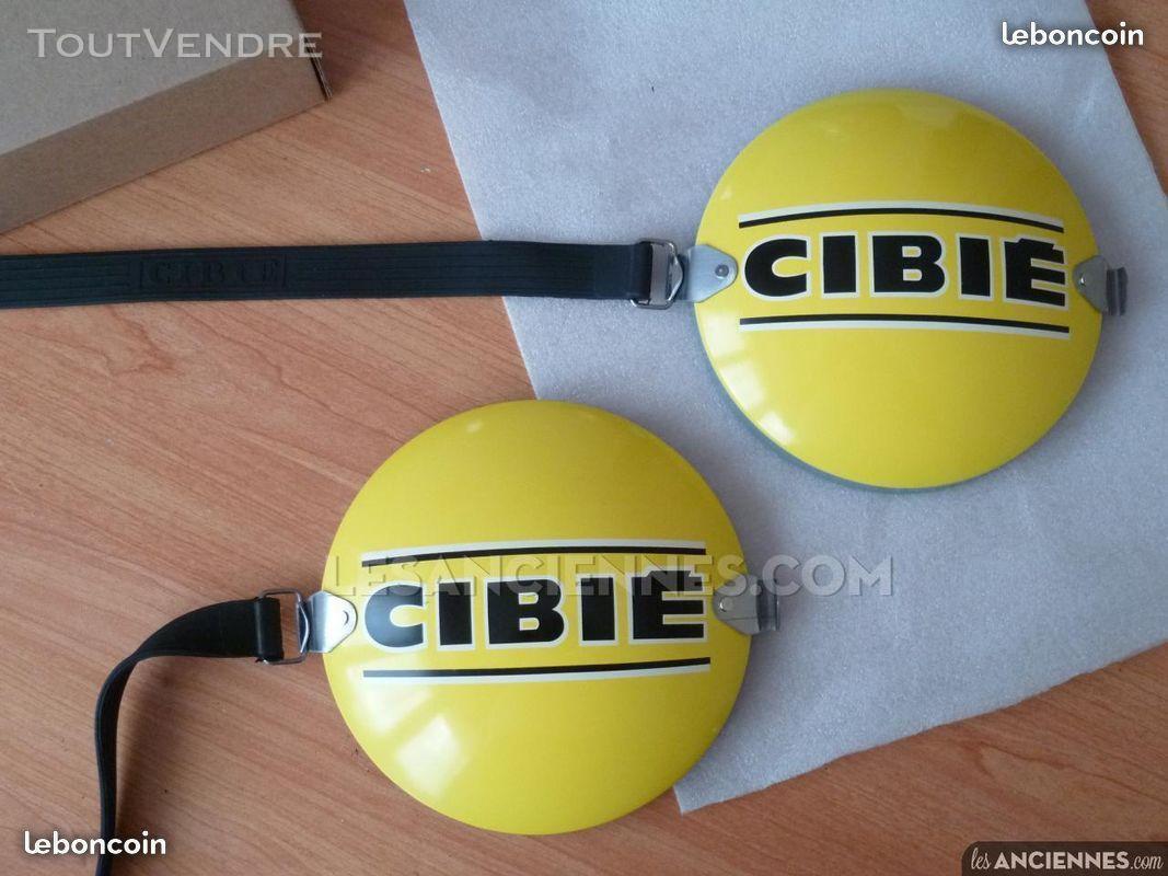 Caches Cibié jaunes en métal pour phares boules 438202388