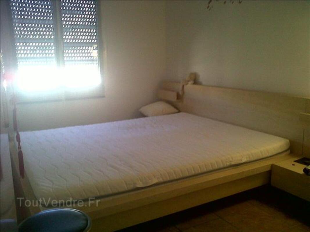 Cadre de lit+2 Tables chevet+Sommier-IKEA 160x200 à 170Euro 68328607