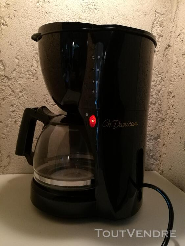 Cafetière électrique Ch. Danican 12 T noire neuve suxn 278295787