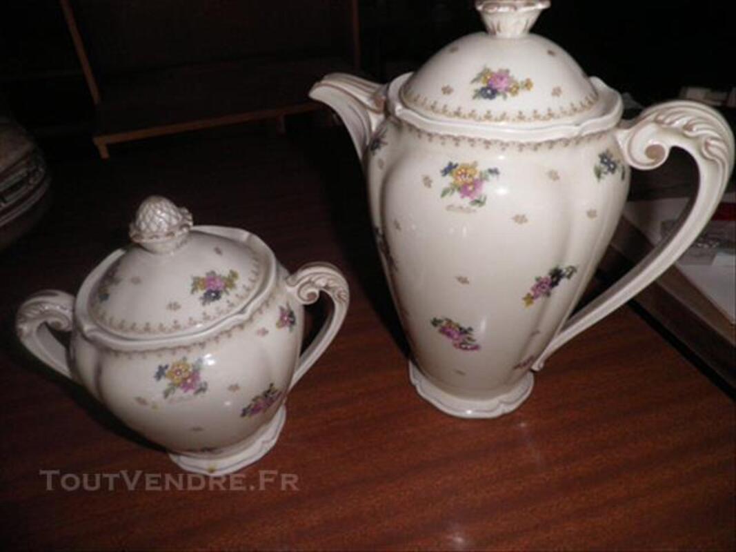 Cafetière + sucrier - pure Limoges - ancienne fabrique 86007714
