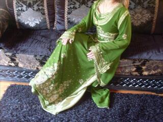 Caftan takchita robe orientale robe marocaine sari neuf