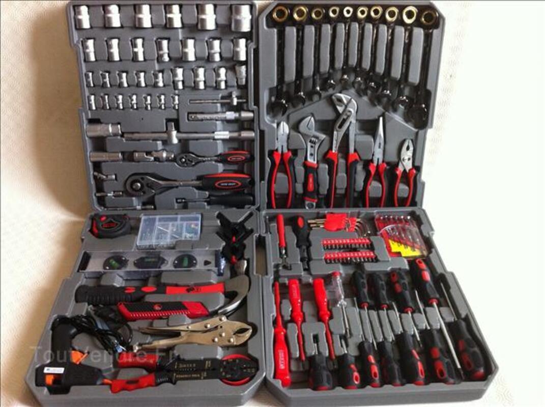Caisse a outils 186 pieces vanadium 61876943