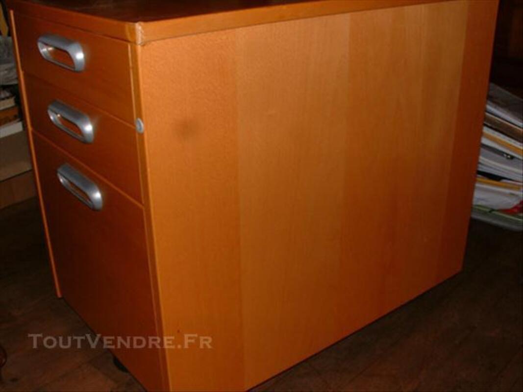 Caisson à tiroirs de bureau IKEA couleur miel 76625037
