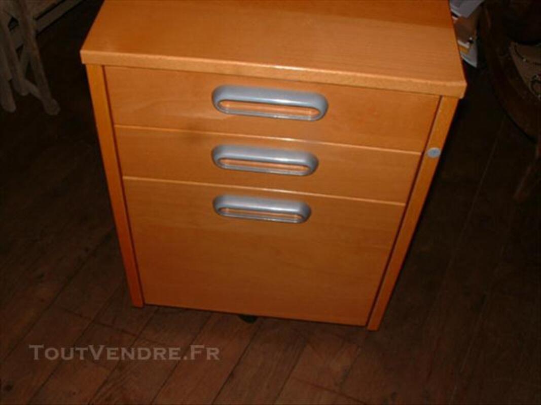 Caisson à tiroirs de bureau IKEA couleur miel 76625038