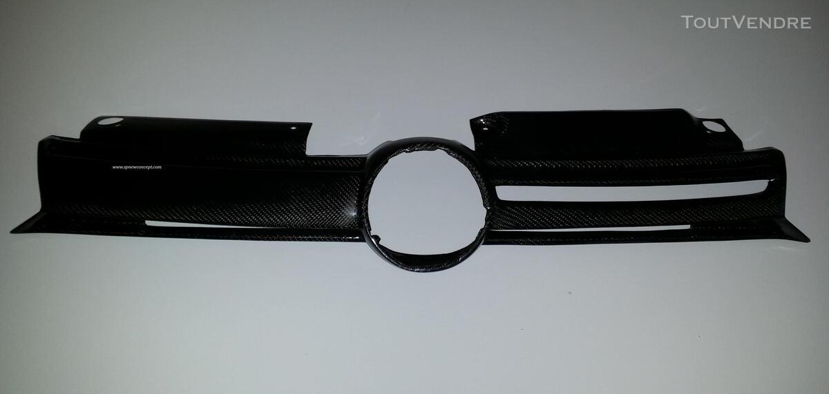 Calandre carbone pour VW GOLF VI 238231759