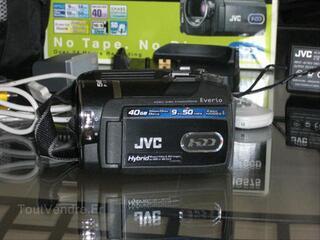CAMESCOPE DISQUE DUR  JVC EVERIO GZ-MG575