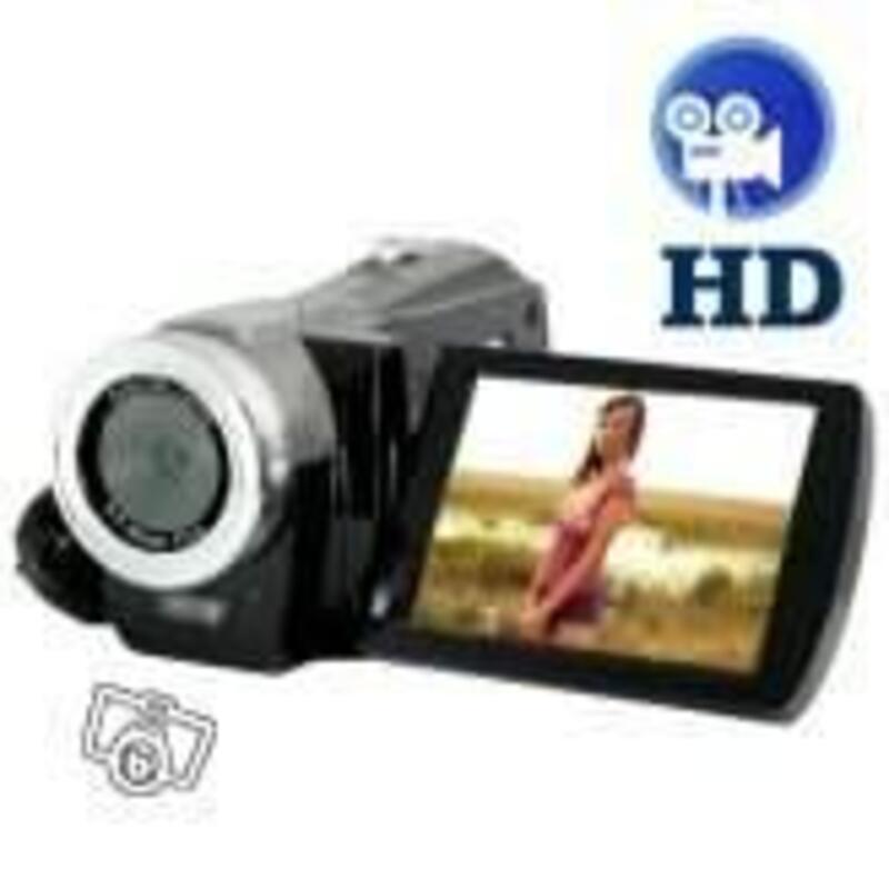 Caméscope Haute définition avec 3 pouces 9868646