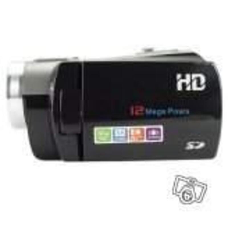 Caméscope Haute définition avec 3 pouces 9868653