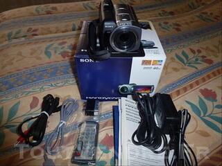 Caméscope Sony Handycam DCR-SR55E PAL 40GB HDD