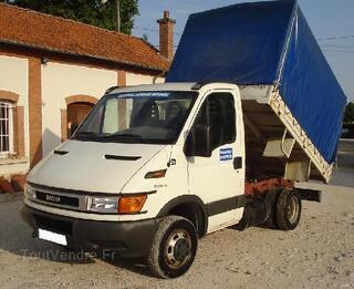 Camion benne bachée IVECO 35c10 hpi