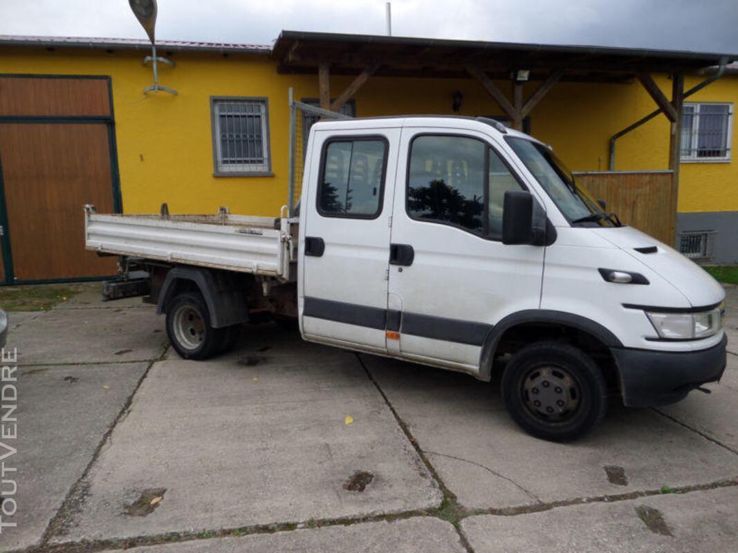 Camion benne IVECO double cabine 3,5 tonnes 270556280