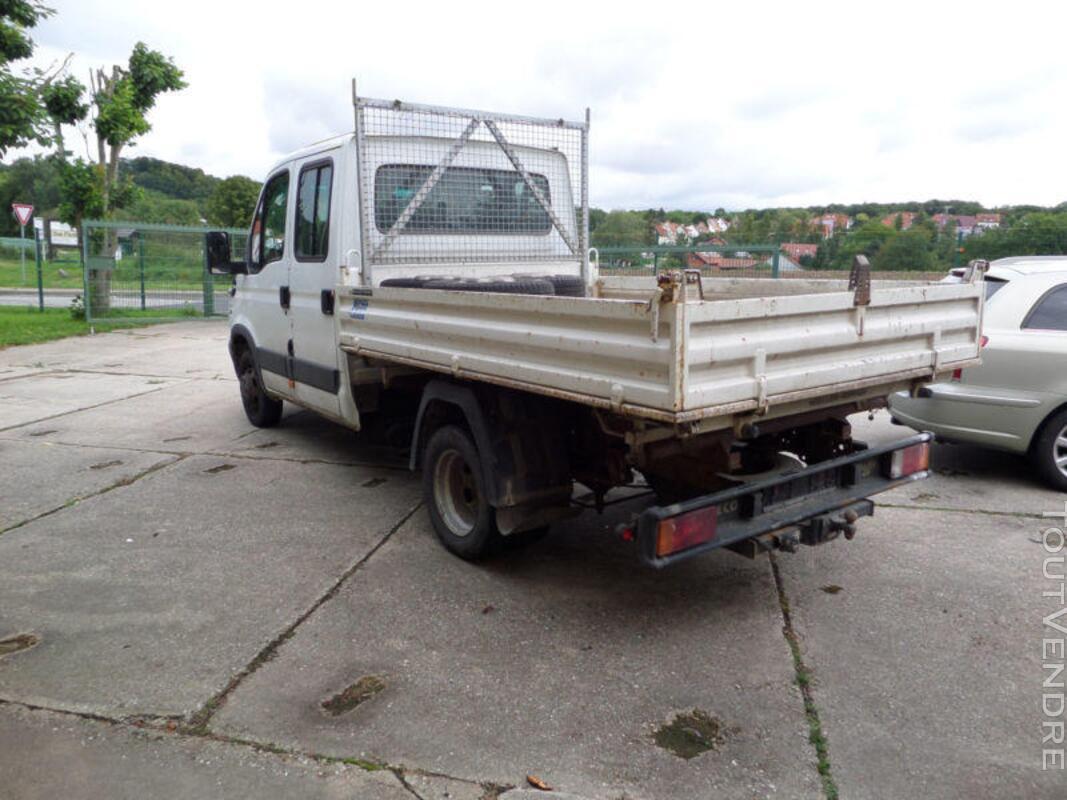 Camion benne IVECO double cabine 3,5 tonnes 270556286