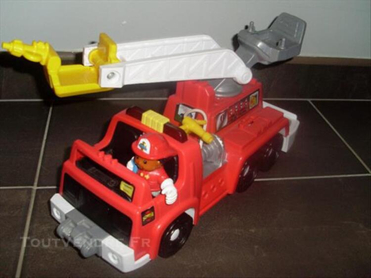 CAMION DE POMPIER LITTLE PEOPLE 86262415