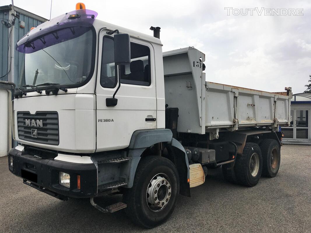 Camion man 6x4 360 ch benne 403942092