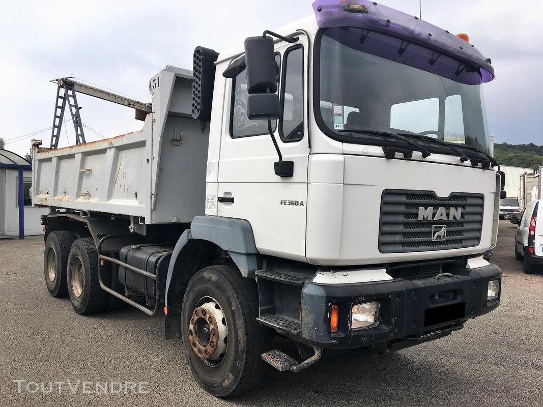 Camion man 6x4 360 ch benne 403942104