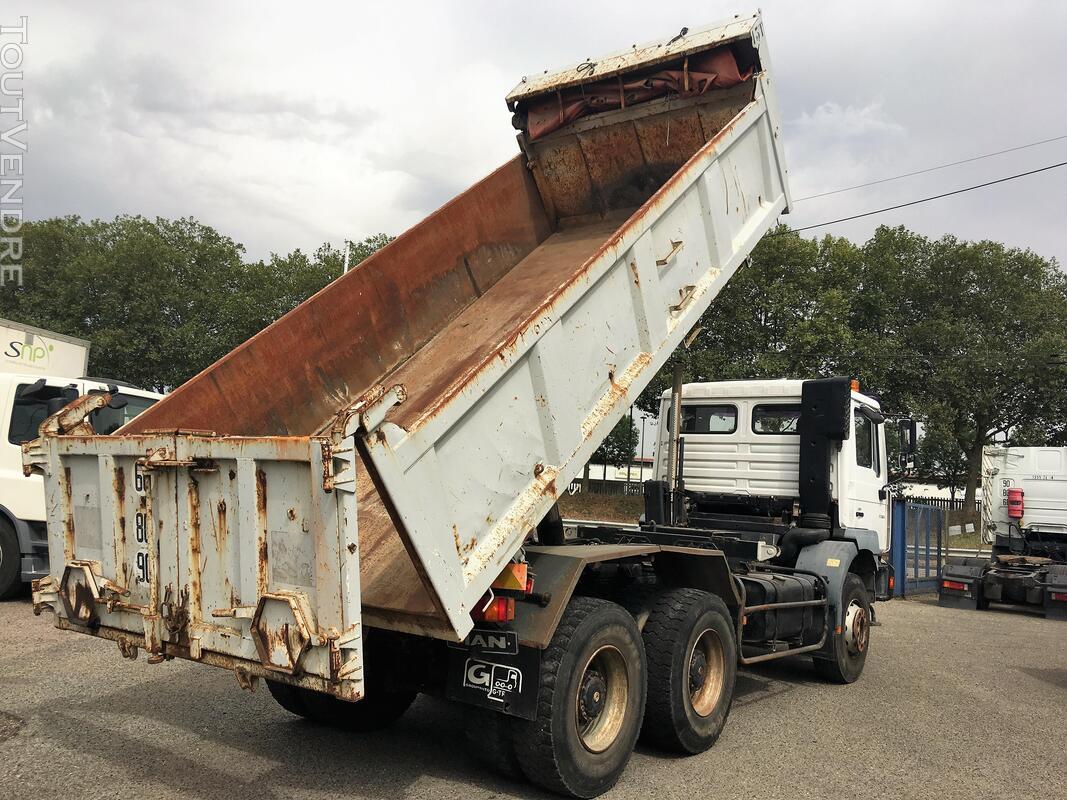 Camion man 6x4 360 ch benne 403942116