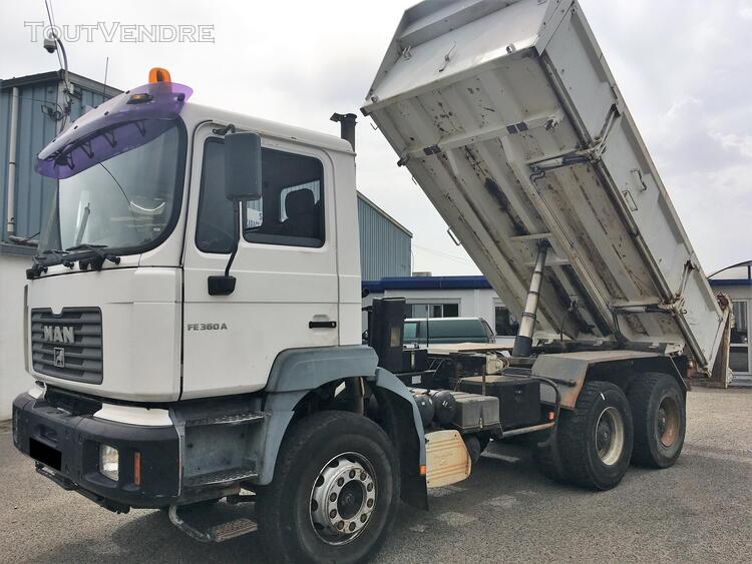 Camion man 6x4 360 ch benne 403942536