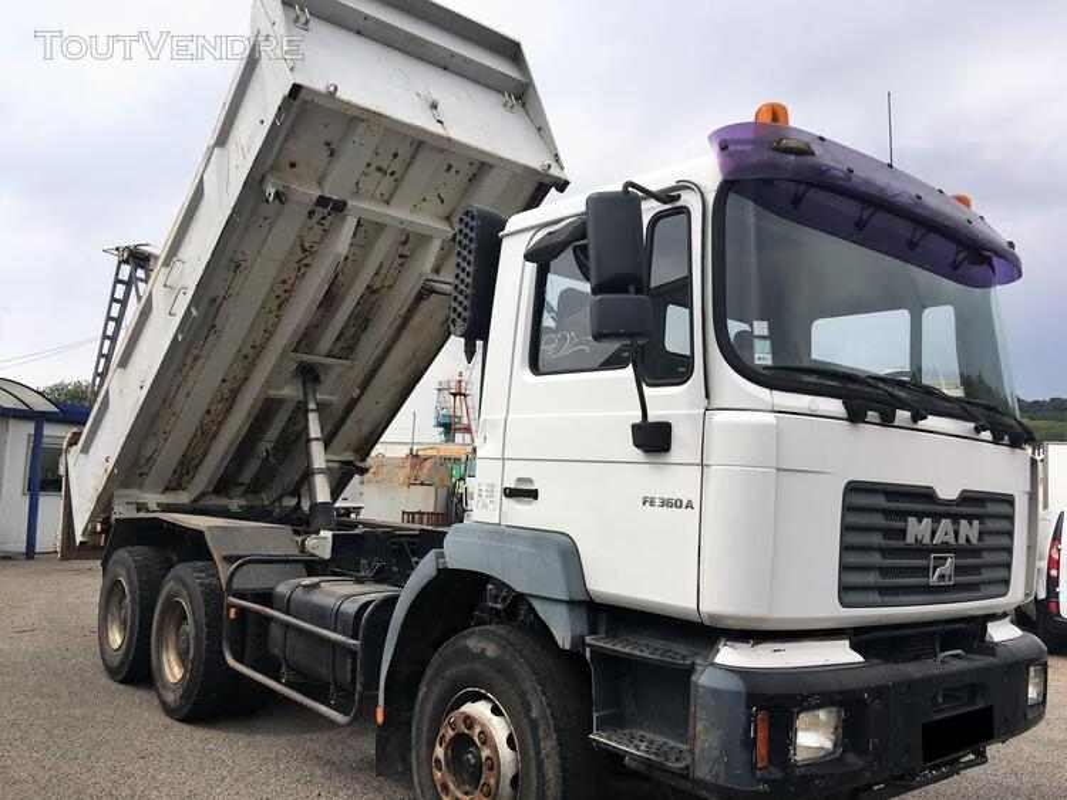 Camion man 6x4 360 ch benne 403942557