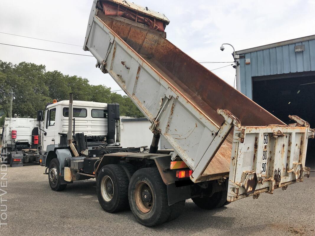 Camion man 6x4 360 ch benne 403942689