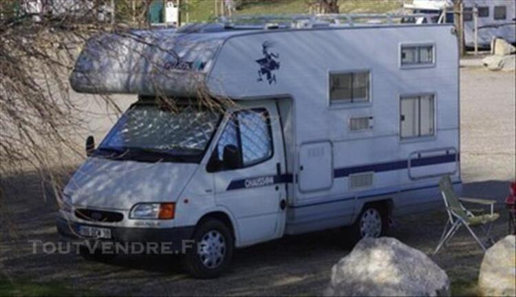 Camping car chausson capucine welcom 10 77374034