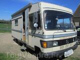 Camping car hymer mercedes