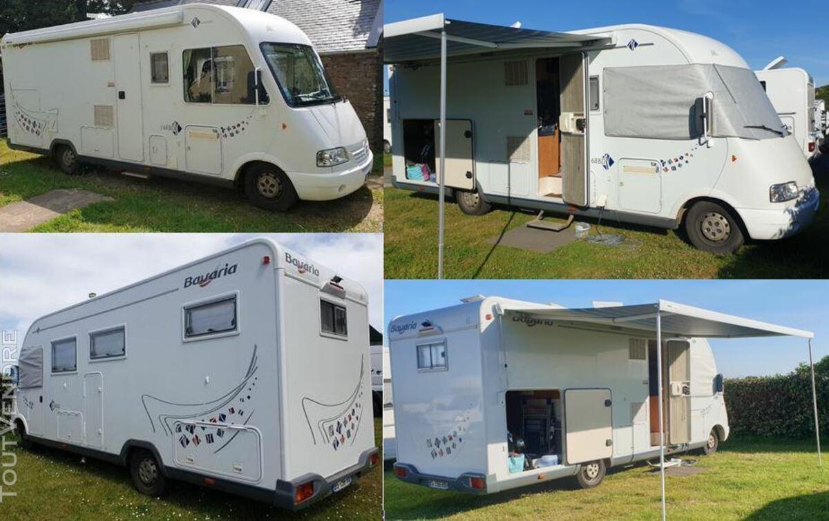 Camping car intégral BAVARIA I68BD 533632958