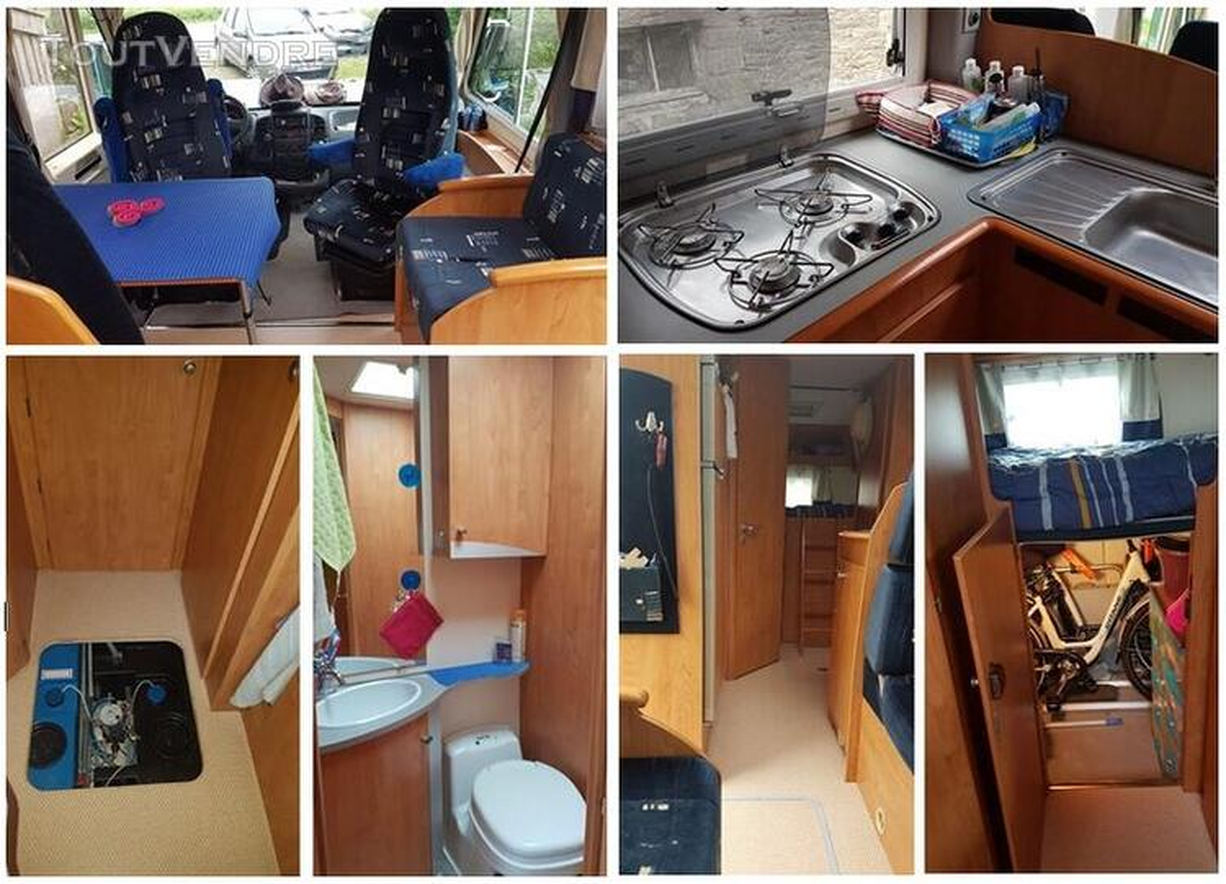 Camping car intégral BAVARIA I68BD 533632964