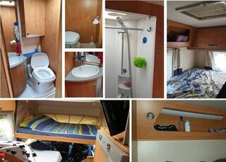 Camping car intégral BAVARIA I68BD