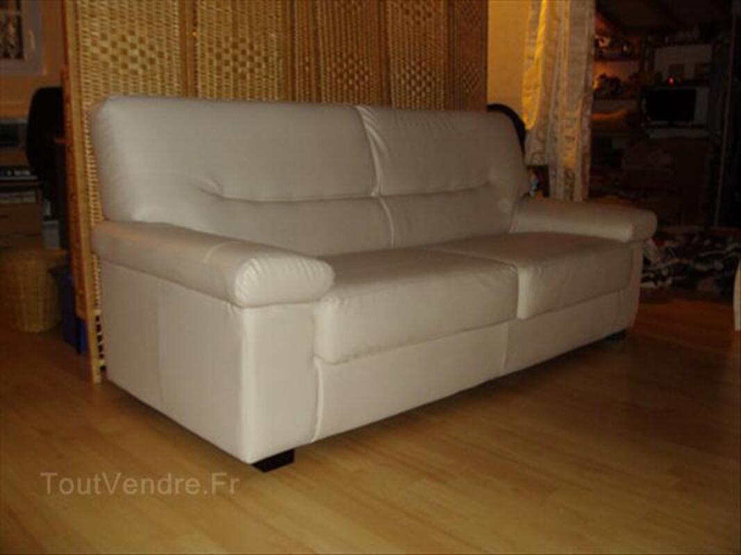 Canapé blanc cassé, 3 places 56148599