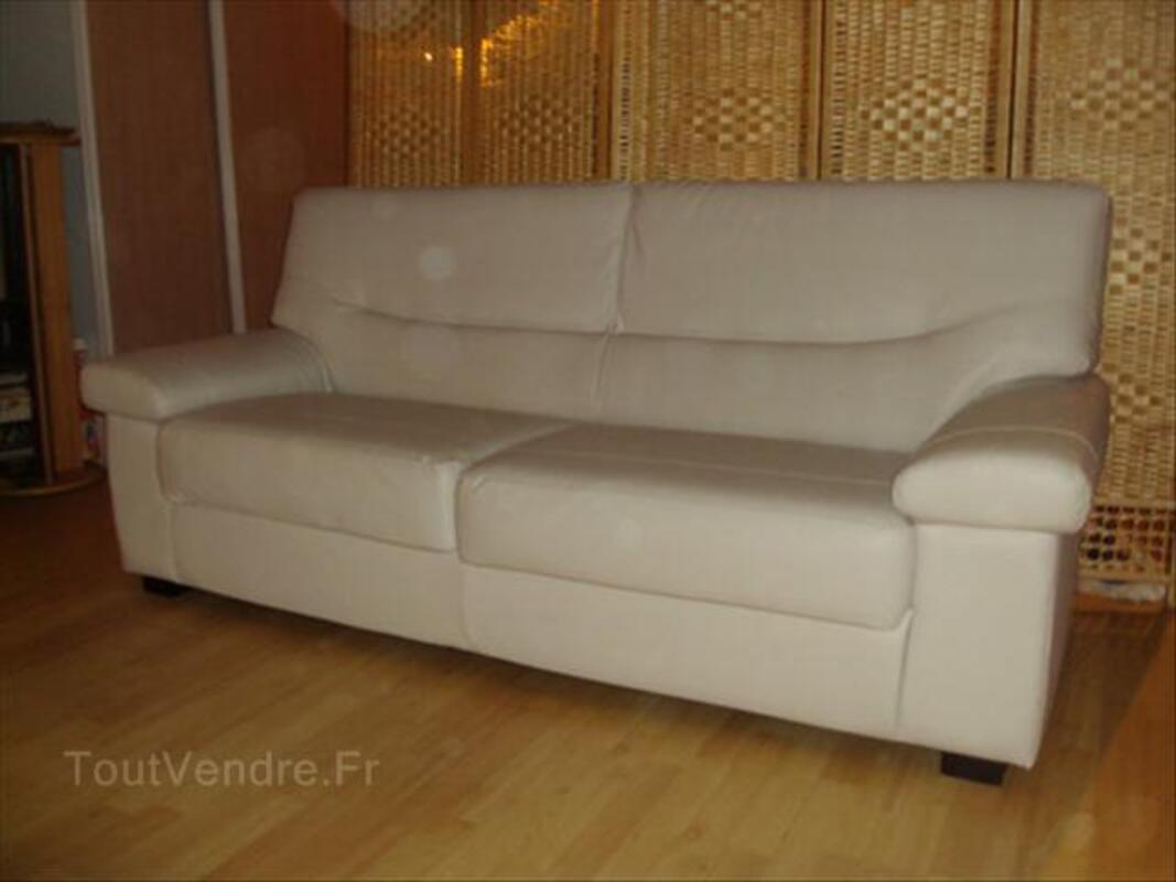 Canapé blanc cassé, 3 places 56148600