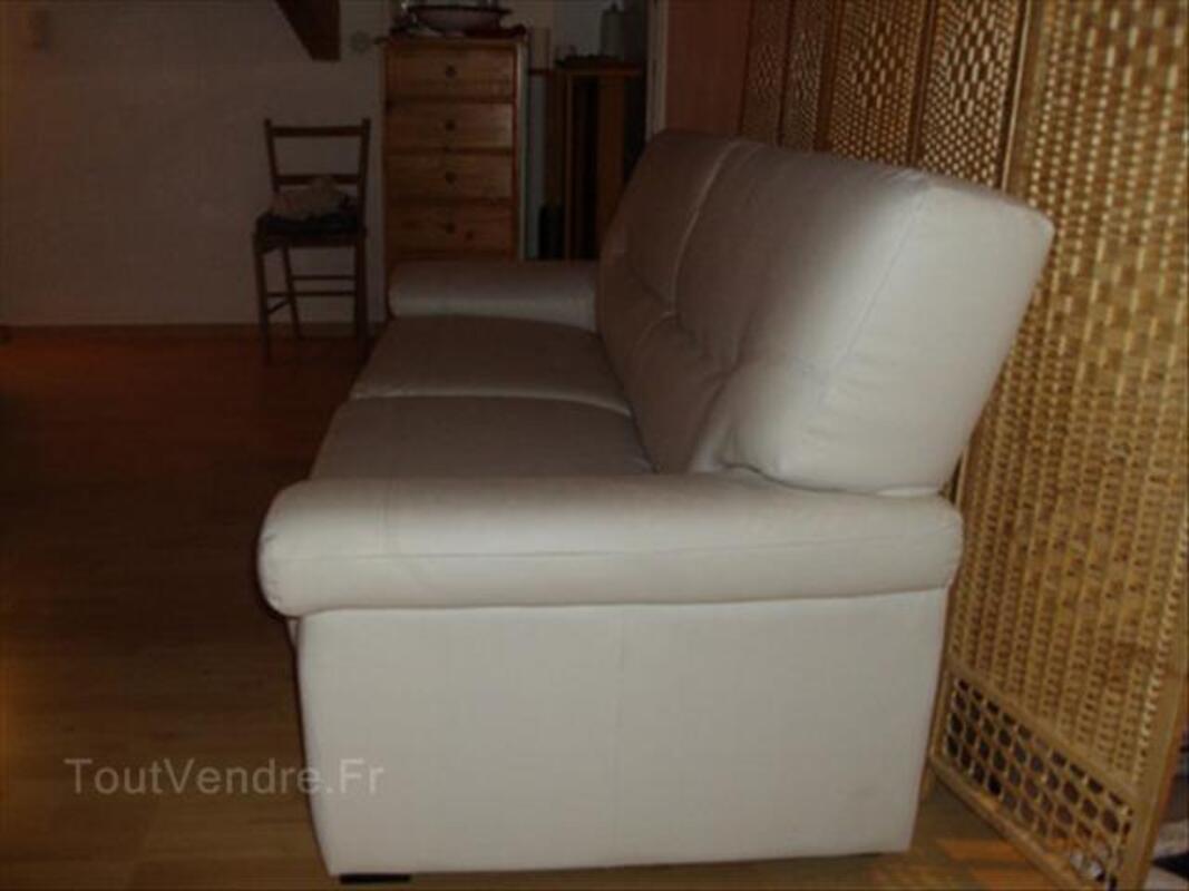 Canapé blanc cassé, 3 places 56148601
