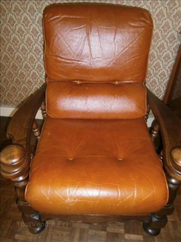Canapé convertible bois et cuir 88114729