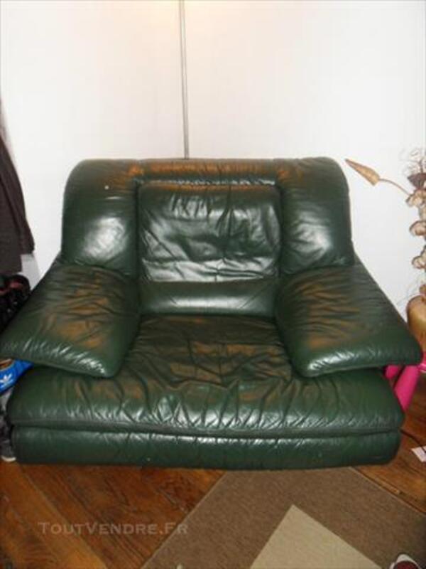Canapé cuir + son fauteuil 86208666
