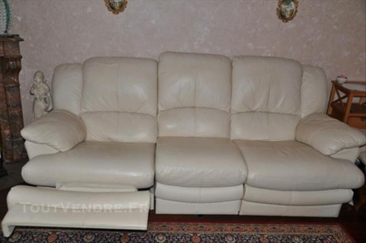 Canapé Cuir 83086352