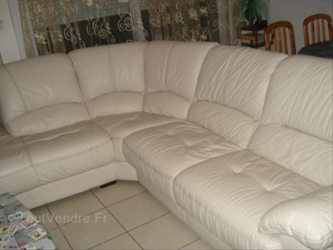Canapé d'angle cuir 64616109