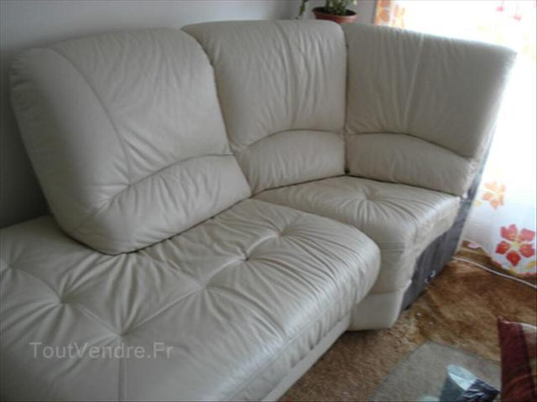 Canapé d'angle cuir 64616110
