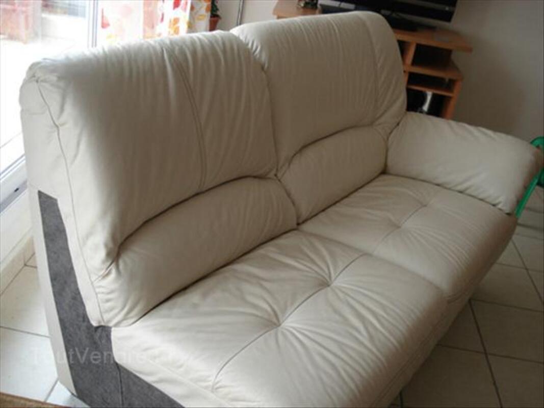 Canapé d'angle cuir 64616111