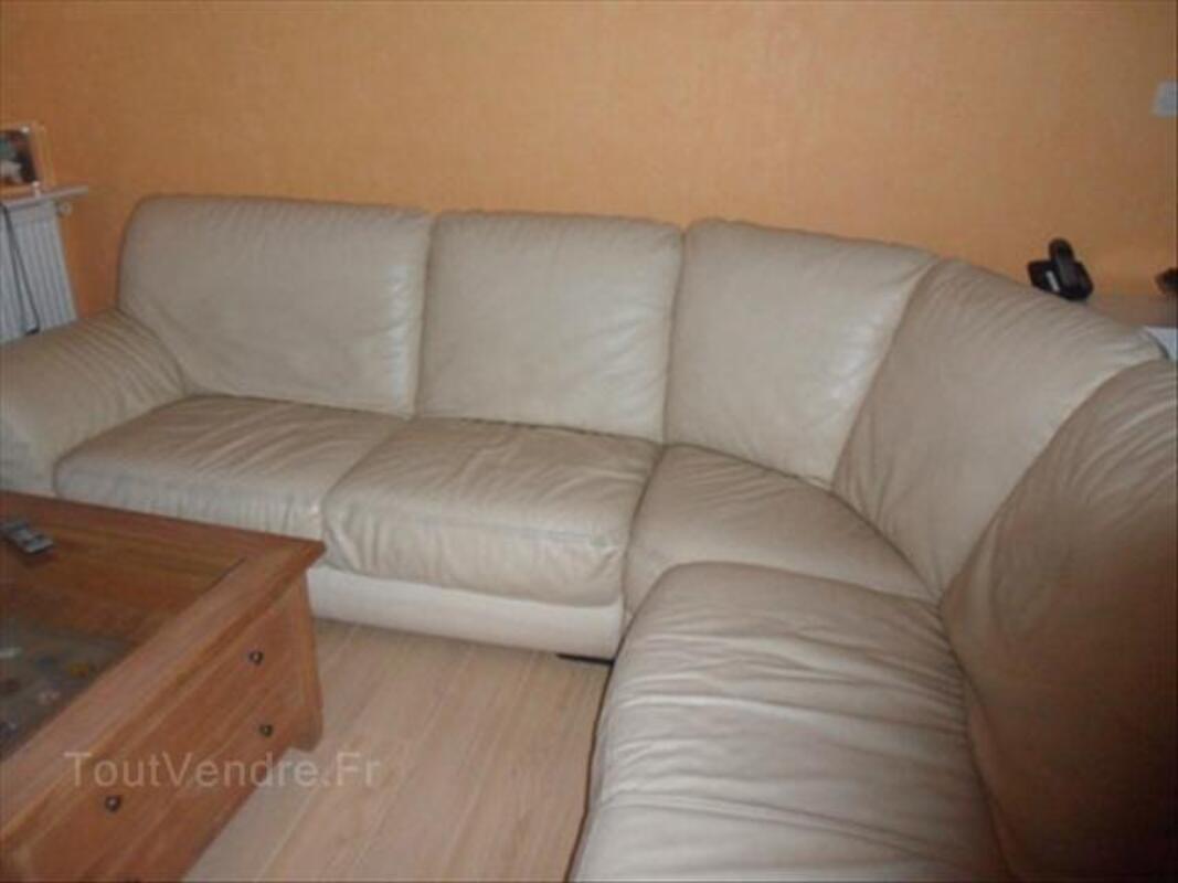 Canapé d'angle en cuir 66102812