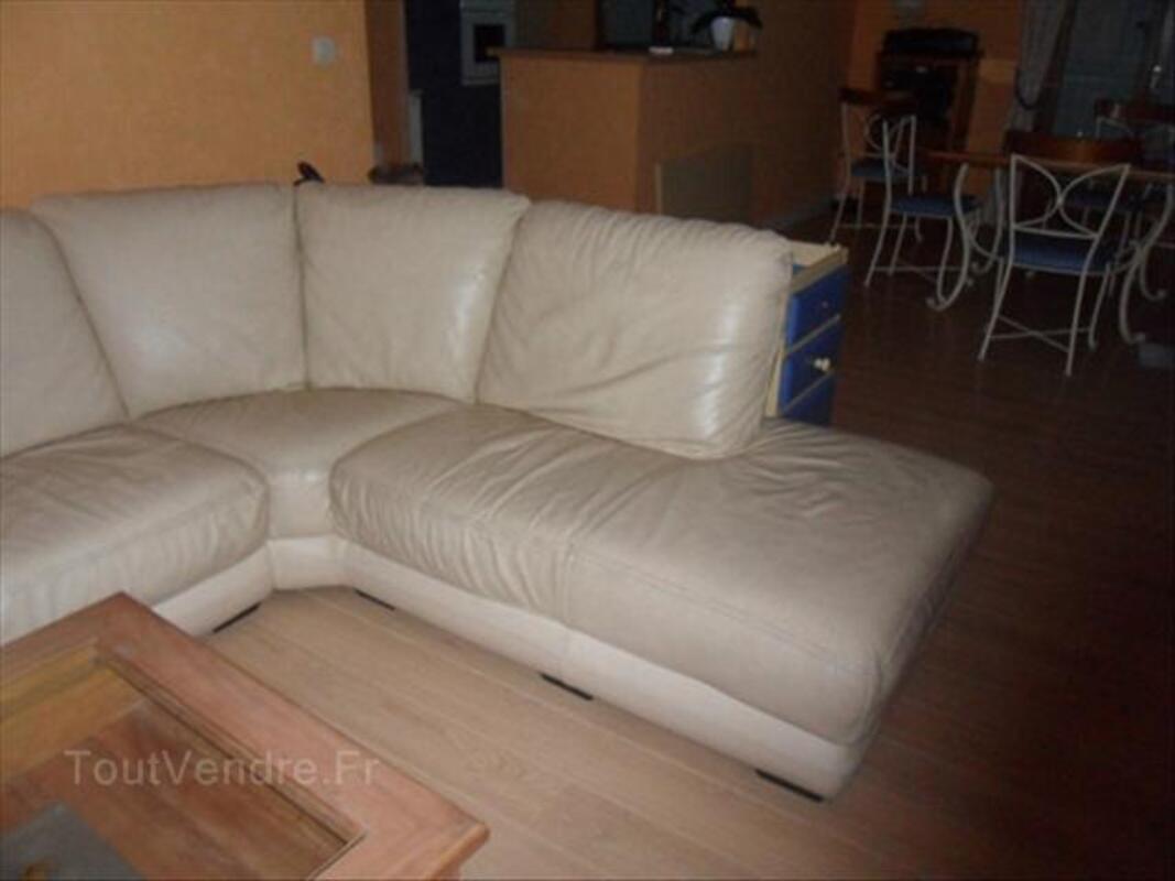 Canapé d'angle en cuir 66102813