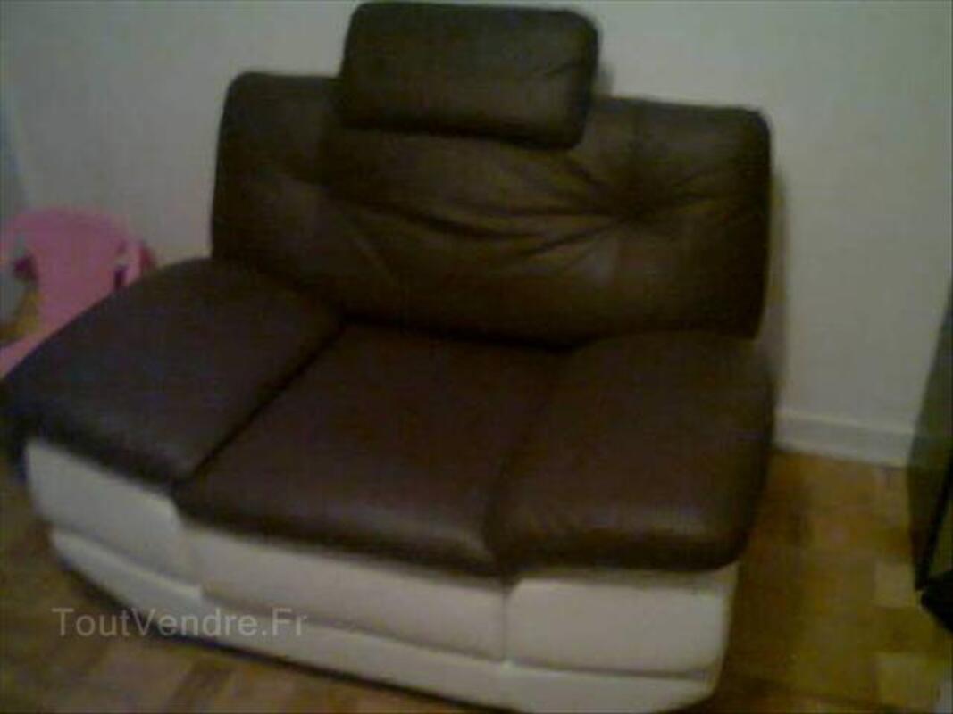 Canapé en cuir (3+2+1) 56219123