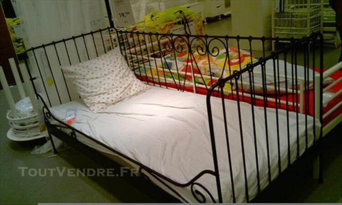 CANAPE + LIT + SOMMIER ETAT NEUF IKEA 77534319