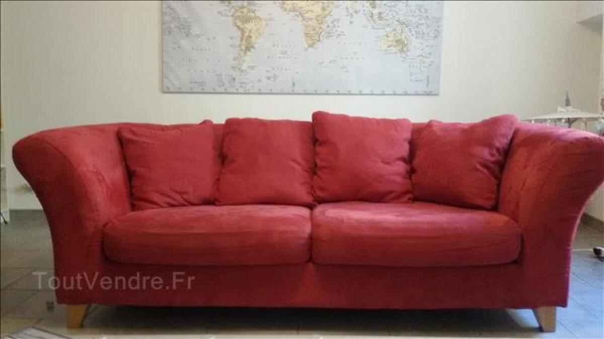 Canapé rouge 96401166