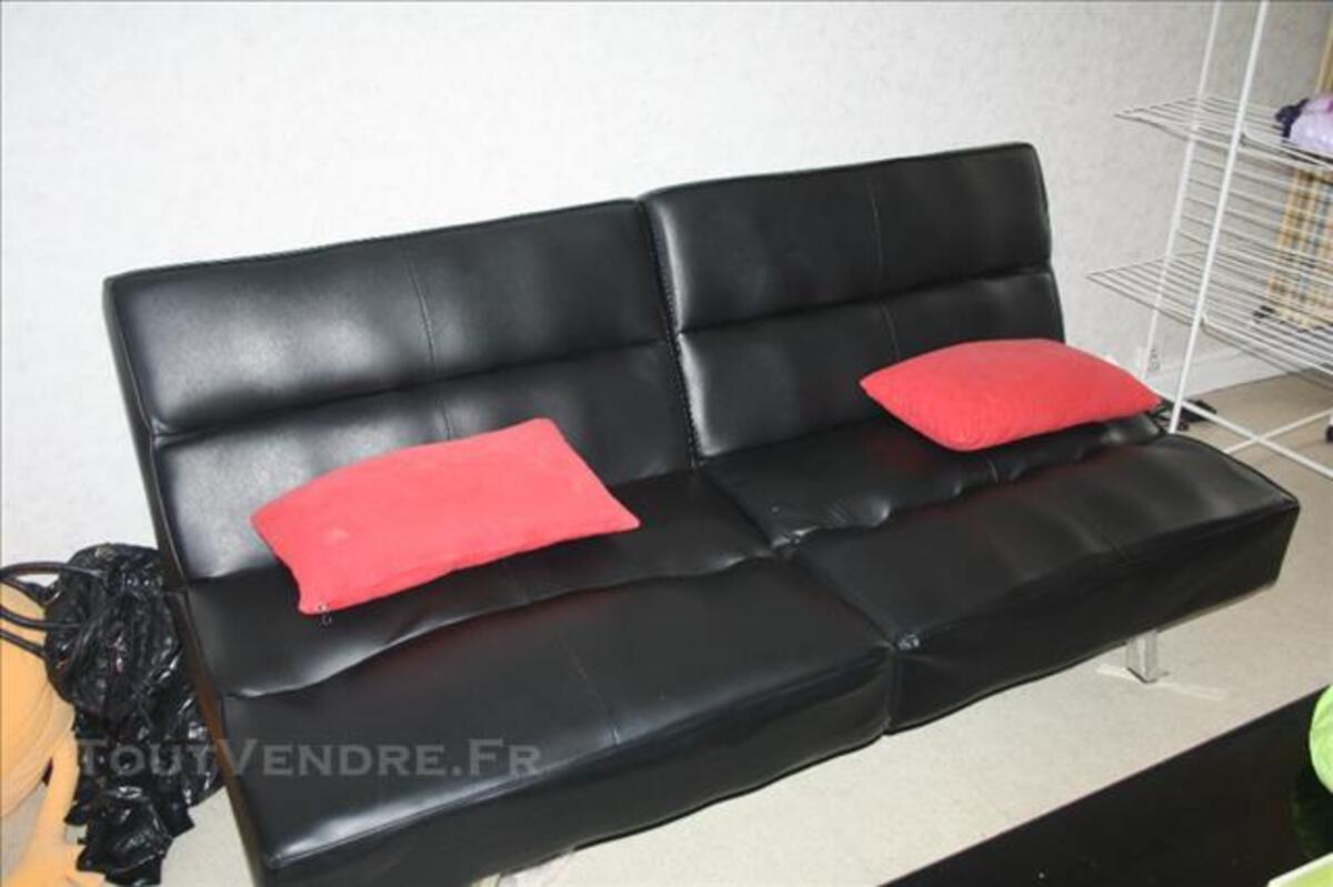 Canapé simili cuir convertible 85808981