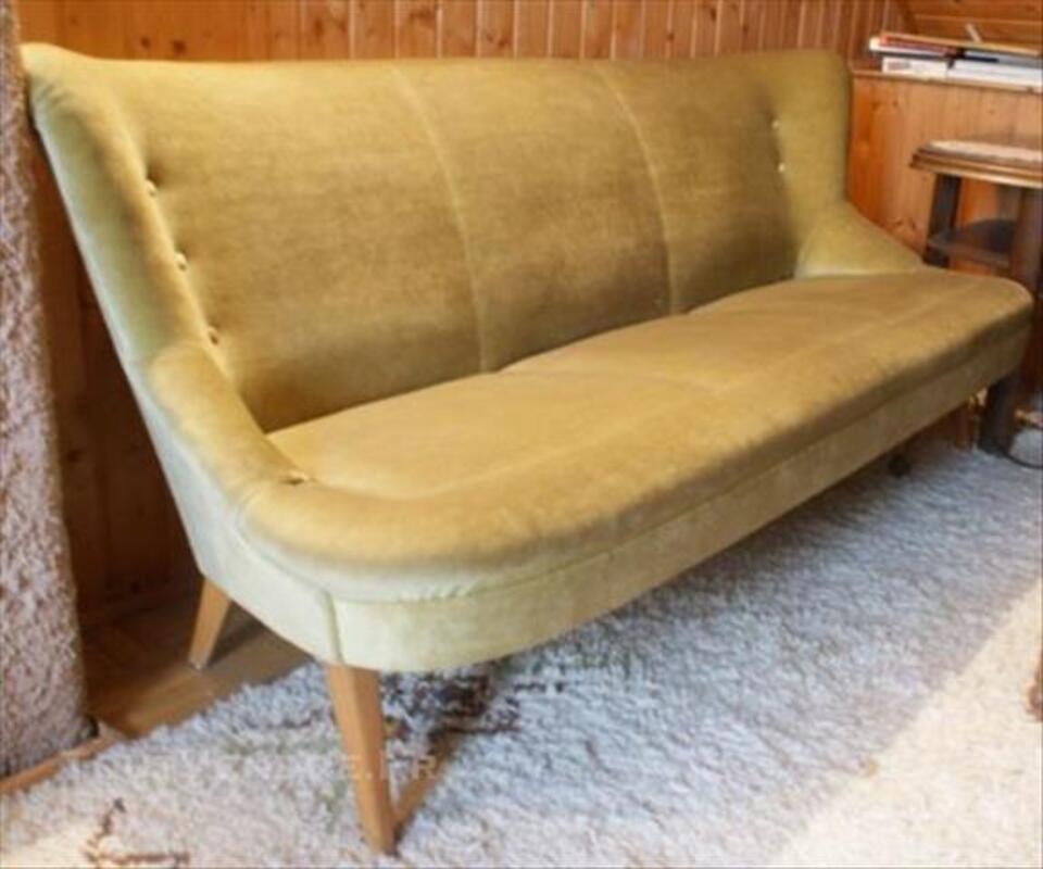 Canapé sofa banquette année 50 60 styl Jean ROYERE 3pla 76146771