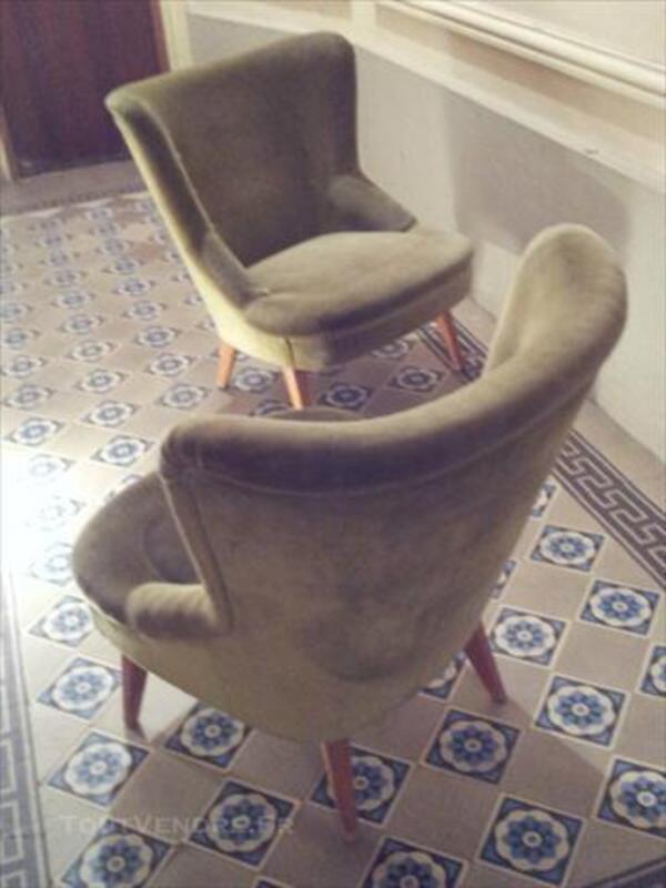 Canapé sofa banquette année 50 60 styl Jean ROYERE 3pla 76146772